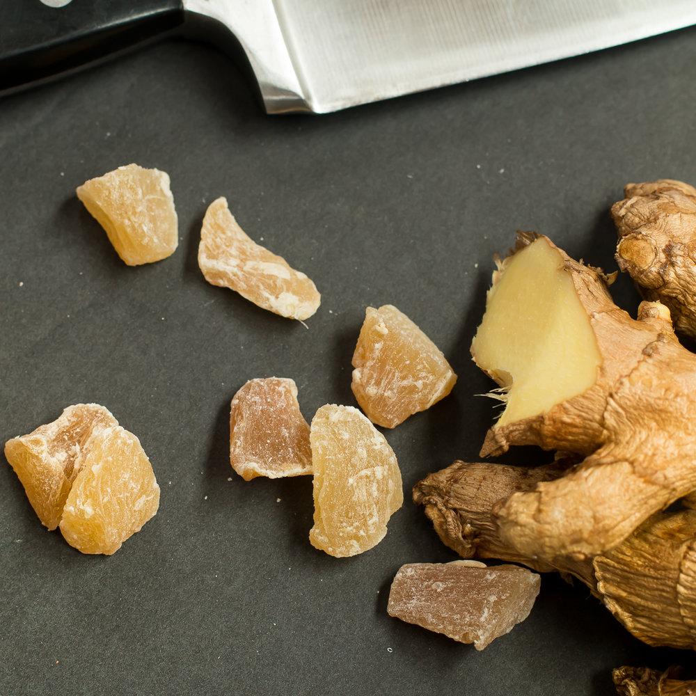 Crystallized Ginger from  Trader Joe's