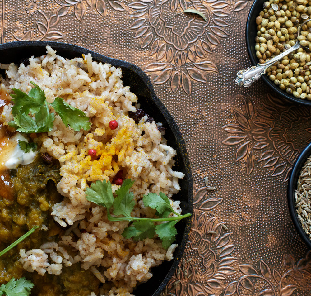 Lentil Dhahl prepared by  Becky Selengut