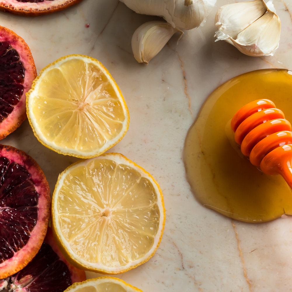 Blood Orange Vinaigrette Ingredients