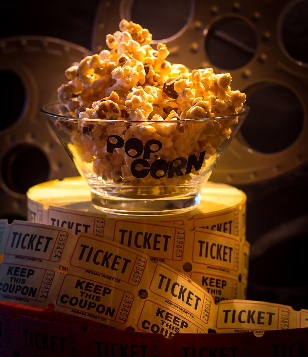 Salted Caramel Hazelnut Popcorn