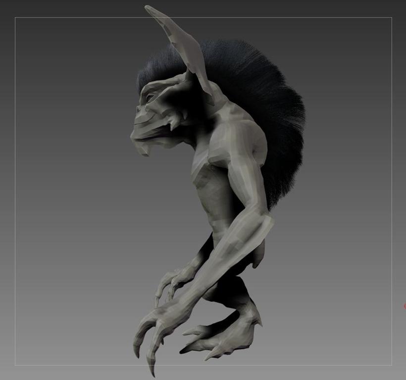 Gremlin (Zbrush)
