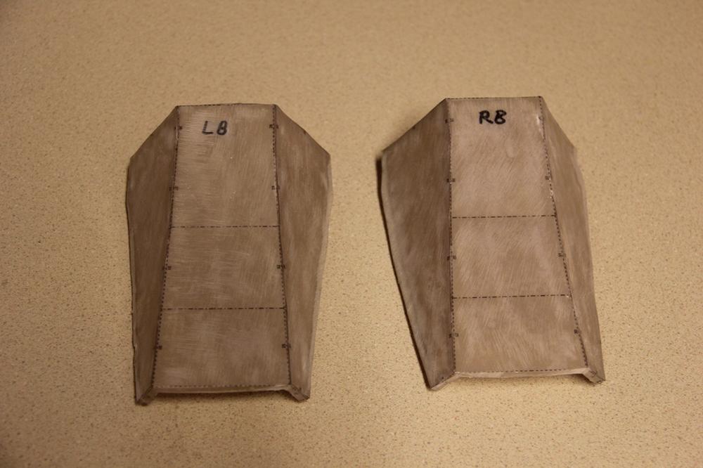 Rear Ankle Armor (Pepakura)