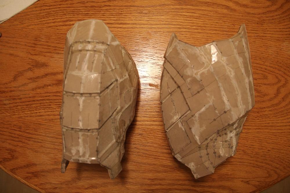 Bicep Armor (Pepakura)
