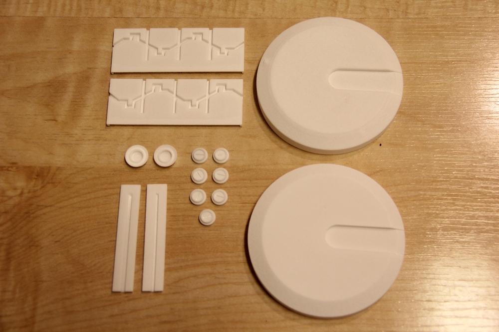 Helmet Detailing Parts (3D Print)