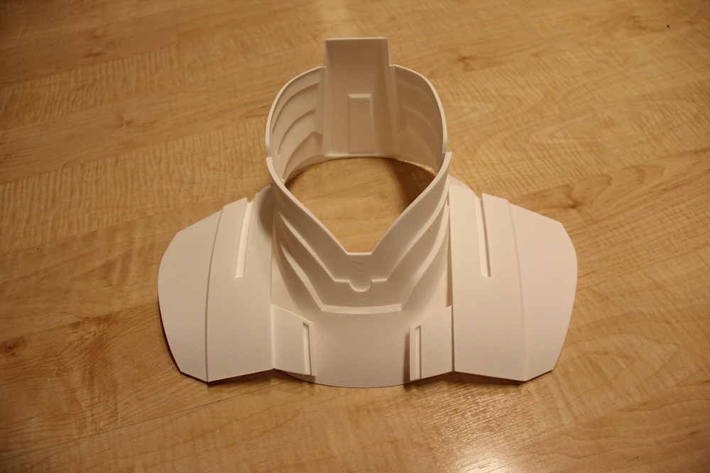 Neck & Collar Armor (3D Print)