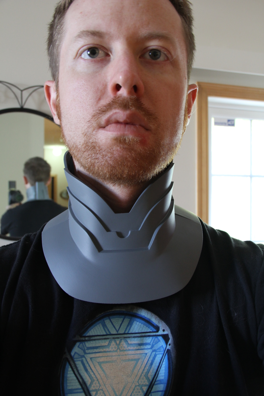 Neck Armor (3D Print)
