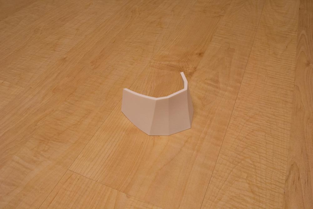 Upper Left Ankle Armor (3D Print)
