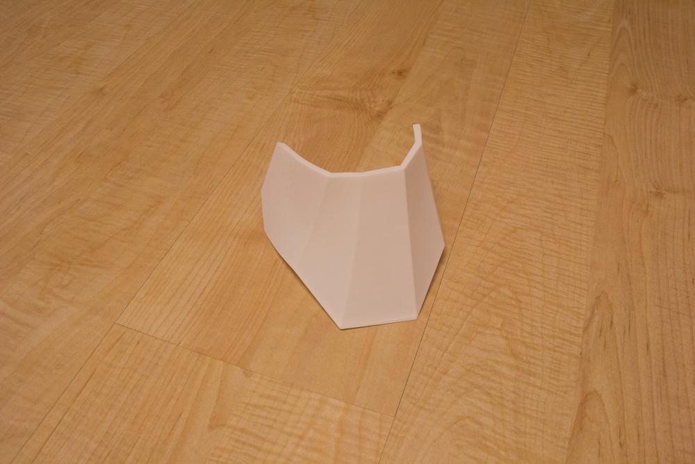 Left Lower Ankle Armor (3D Print)