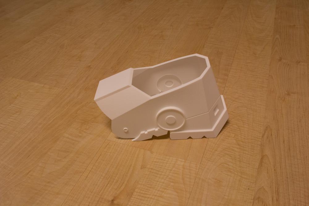 Heel Boot Armor (3D Print)
