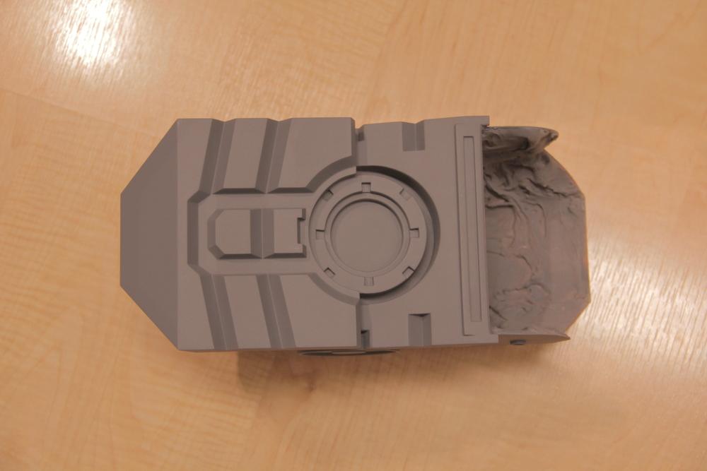 Heel Armor (Bottom)