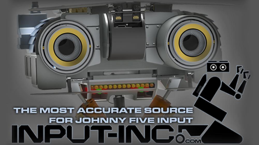 Johnny 5 Robot CAD
