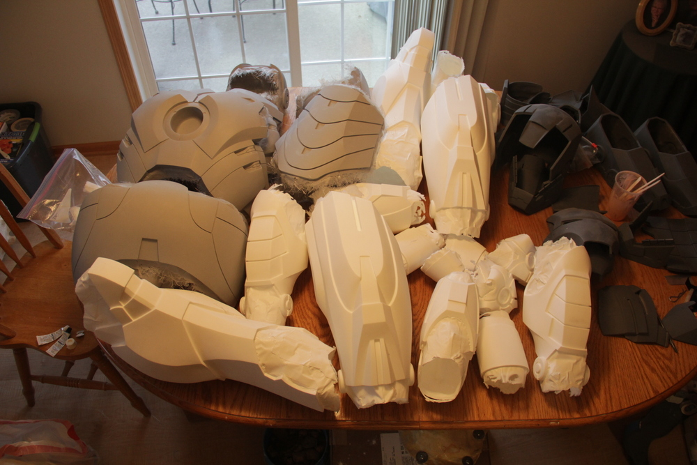 Epoxy/plastic casts
