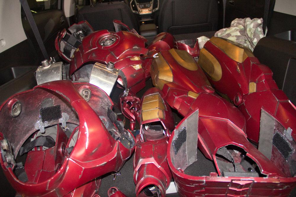 Iron Man parts