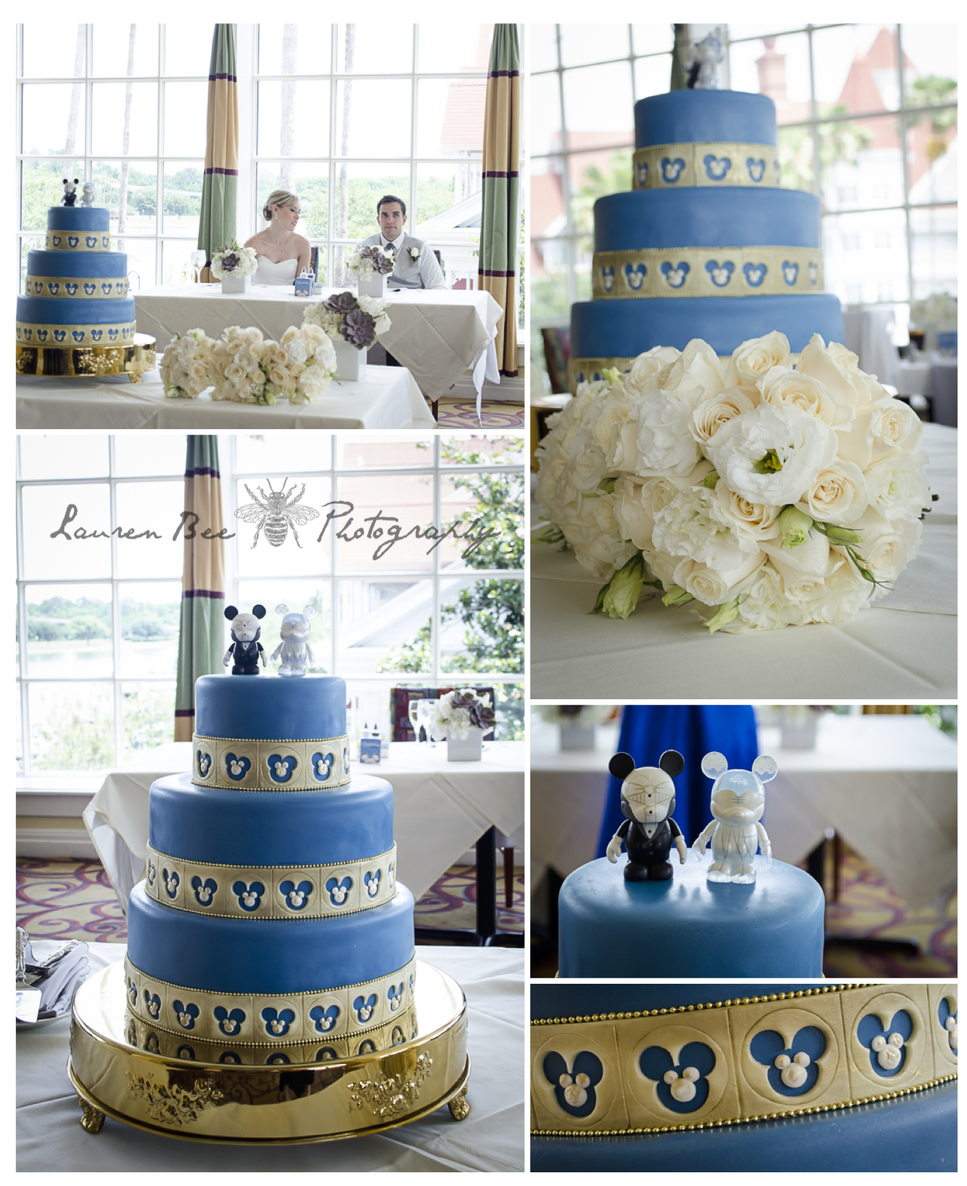 Disney World Citricos wedding cake