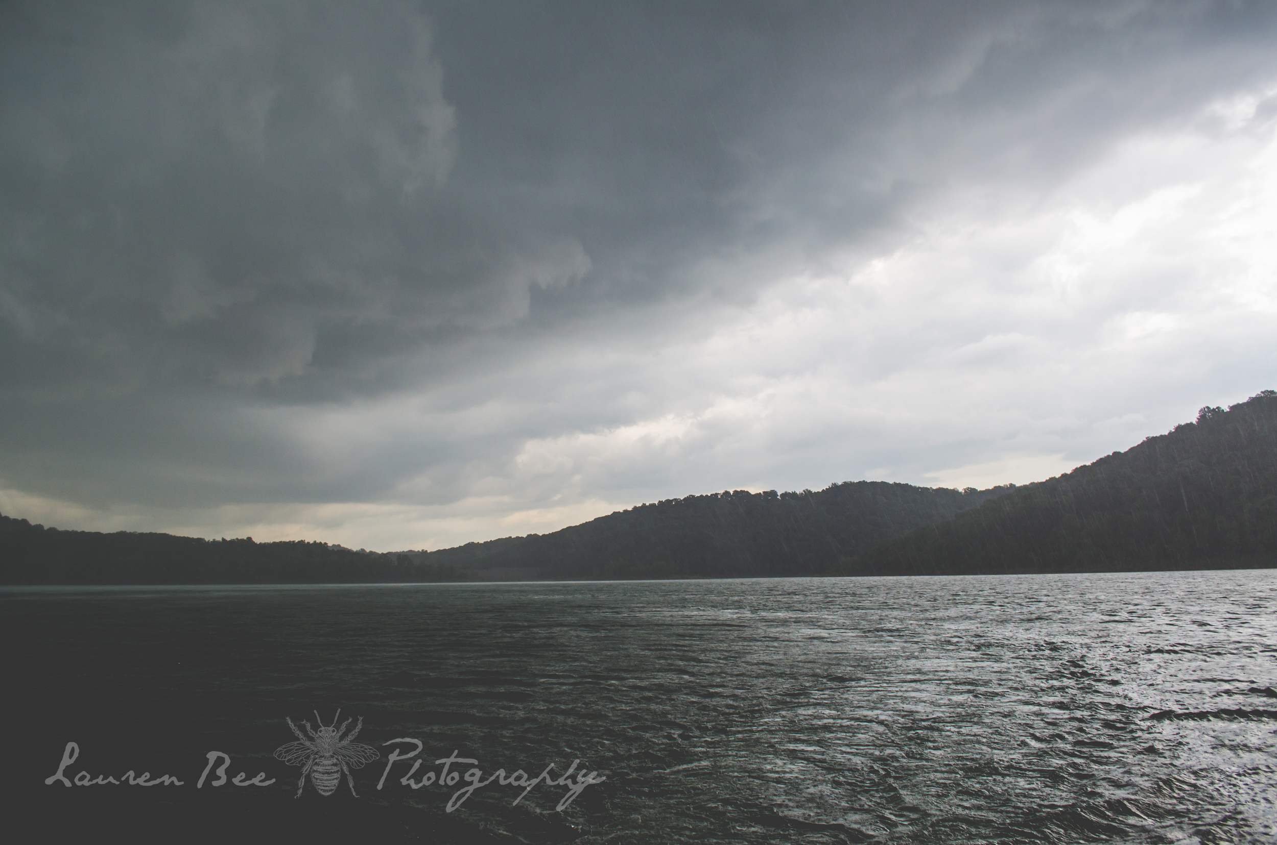 storm over Center Hill Lake, Tennessee
