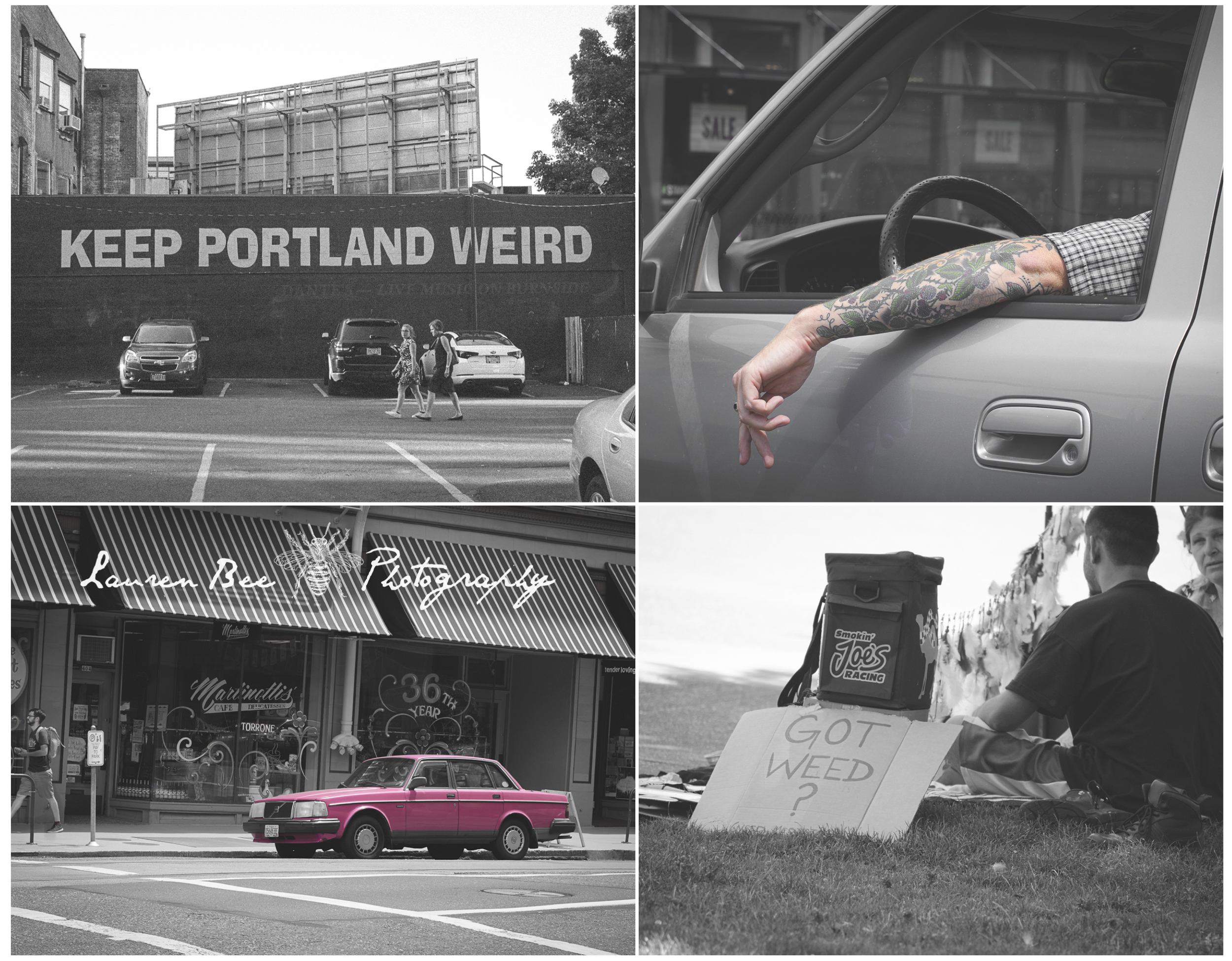 Portland is indeed weird.  Wonderfully and deliciously weird -- and I love it!