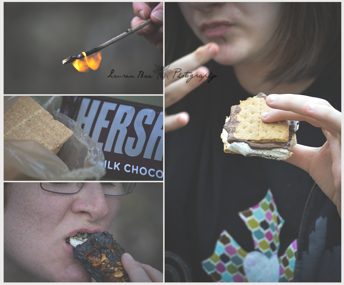 """S"" is for s'mores"