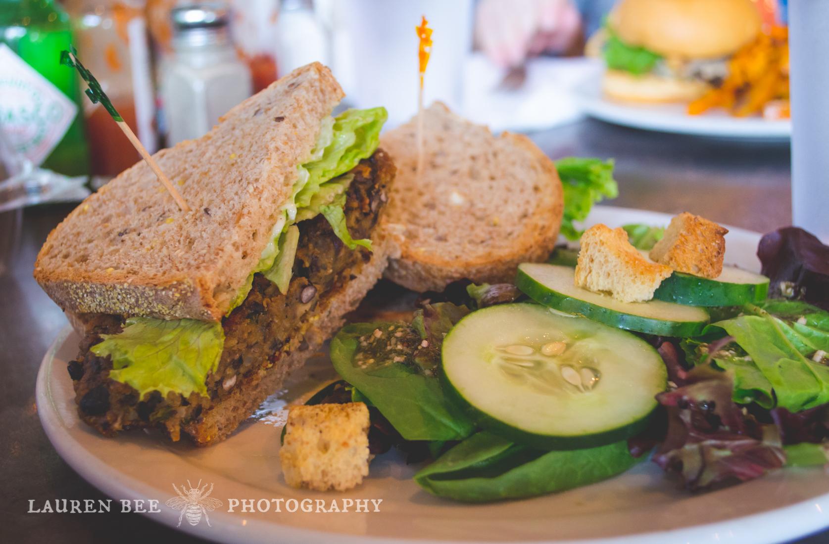 Fido Nashville, veggie burger
