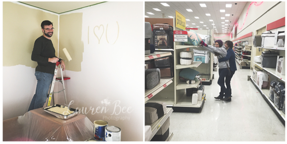 Painting walls and (silly) Target runs...