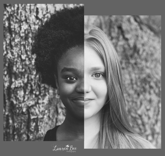 """Beneath the armor of skin and bone and mind, most of our colors are amazingly the same.""     ~ Aberjhani  Special thanks for this image goes out to Toya Poplar, of  Tree of Life Photography , and her lovely daughter Trinity (model)."