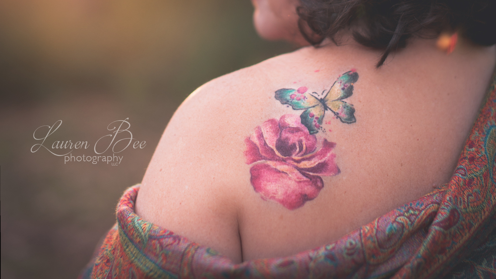 Isn't Jan's watercolor tattoo the most gorgeous thing?