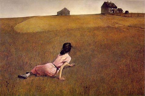 """Christina's World"", Andrew Wyeth, 1948, MOMA"