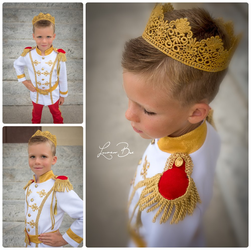 Isn't this little prince the most dashing you've ever seen?