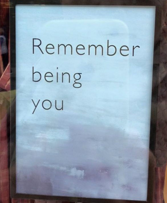 Remember being you.jpg