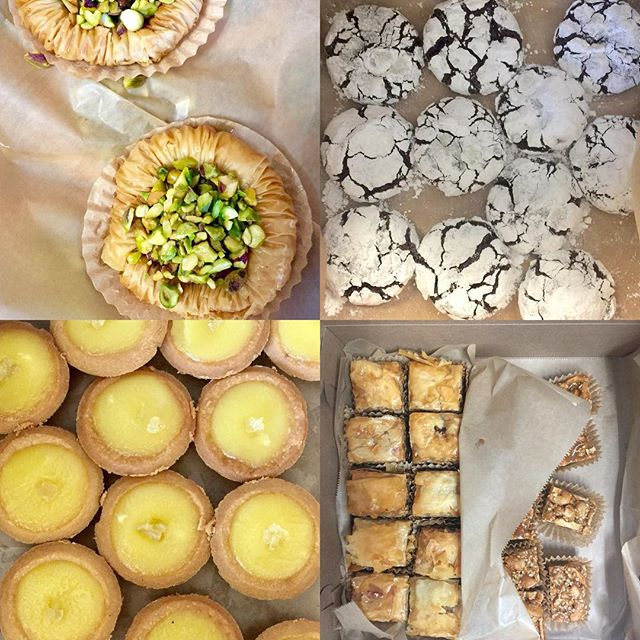 Any lunch is a good lunch with desserts from @sofrabakery