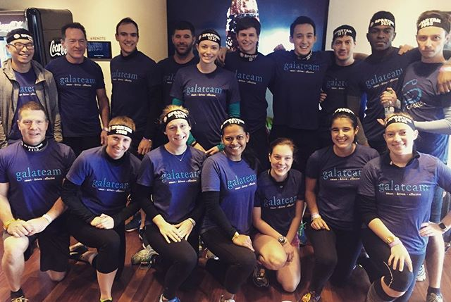 Galateam is ready for the Fenway Spartan Sprint! @spartanrace