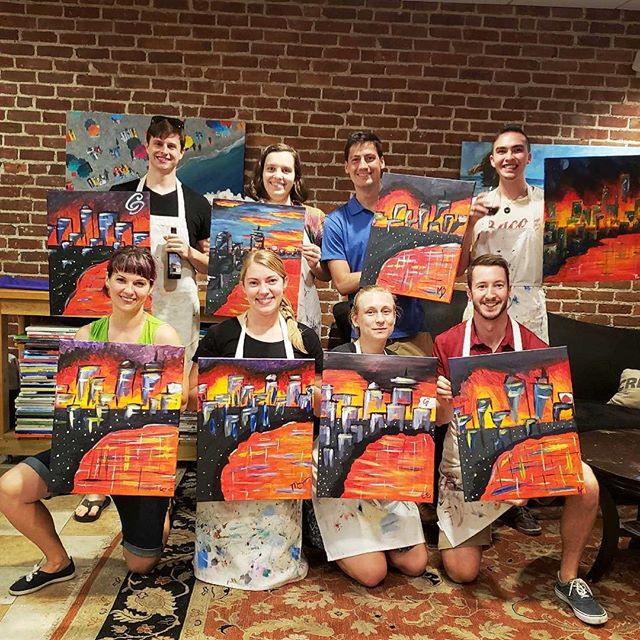 Paint night by a Galatean for Galateans!