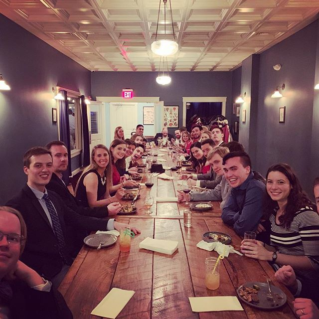 Happy holidays from the Galatea Holiday Party 2018!!! Thank you @puritanco for the delicious food and drinks! #latergram