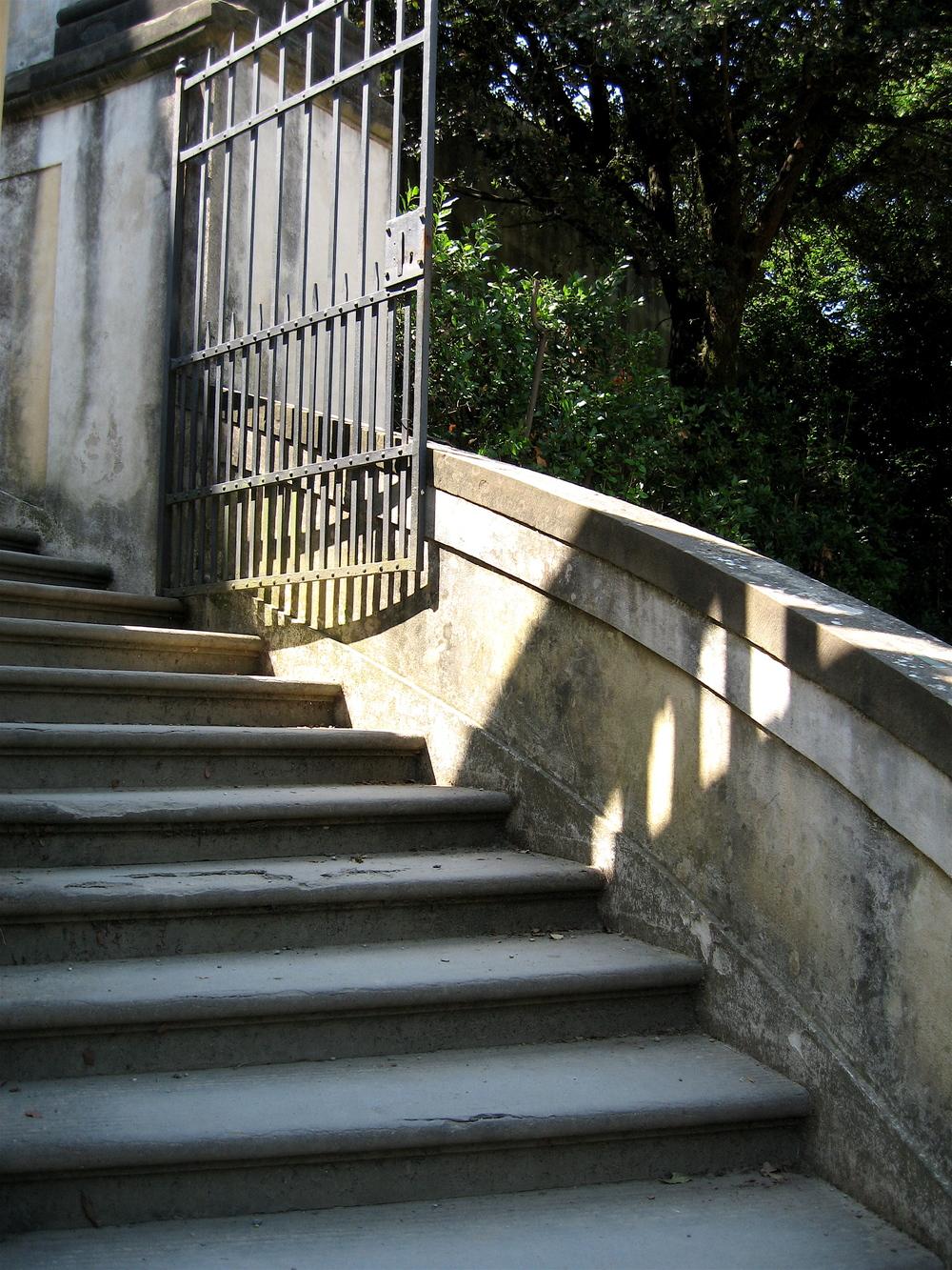 Stairs in the Boboli Gardens