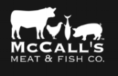 McCall's meat and fish co. LOGO