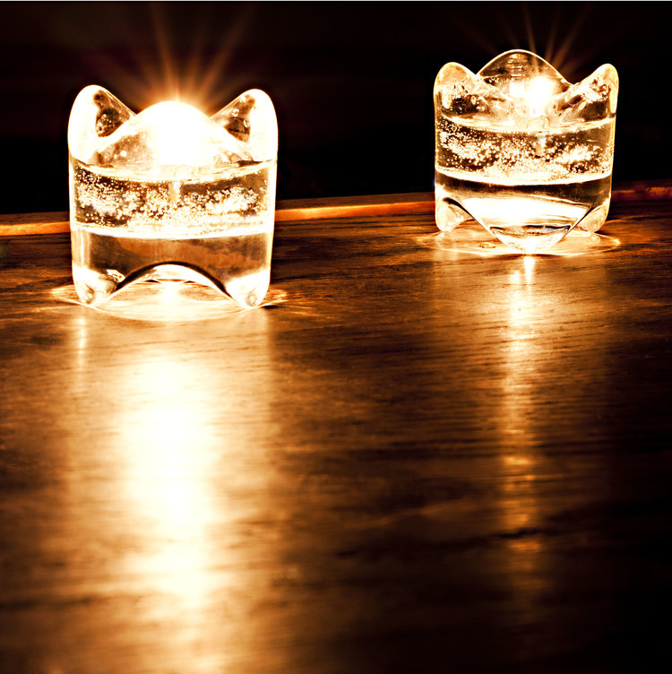 Glow Like a Gem - Burning Stacking Gem Candle - 15+ hours