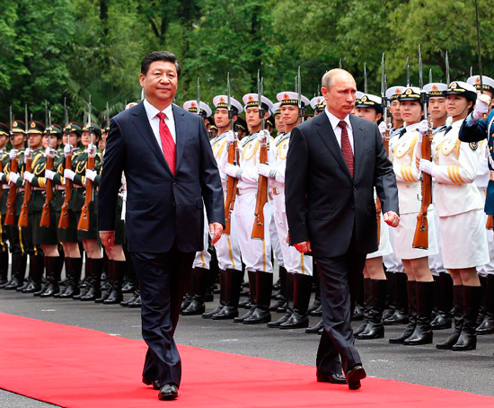 Russia's Rebound: Breaking Up with the United States, Getting Together with China