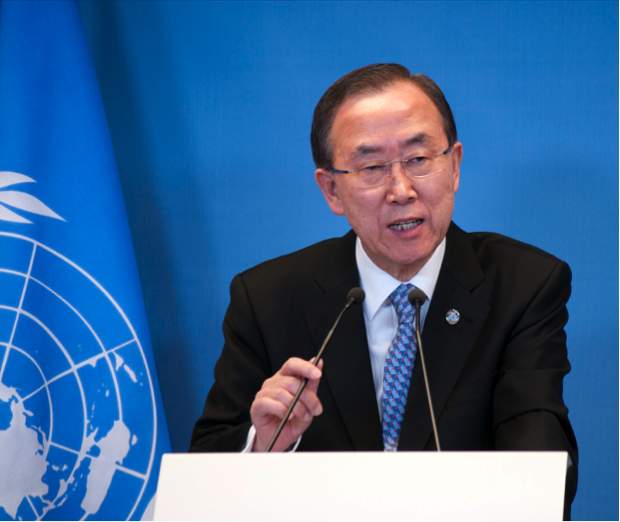 Un secretary general speaks out on israel-palestine conflict