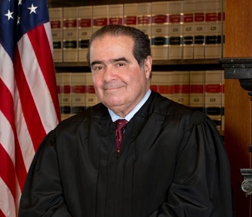 DEATH OF CONSERVATIVE LEGEND SUPREME COURT JUSTICE SCALIA LEAVES THE FUTURE WIDE OPEN