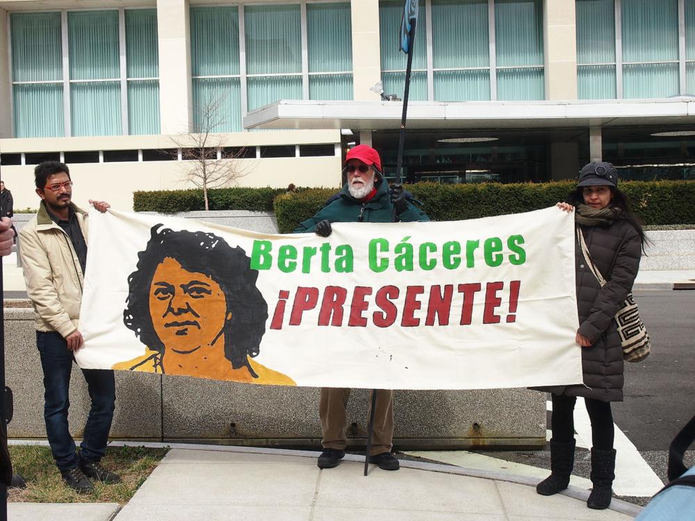 Justice for Berta Cáceres?