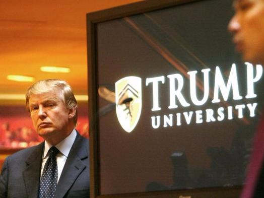 Trump university and its fellow scams