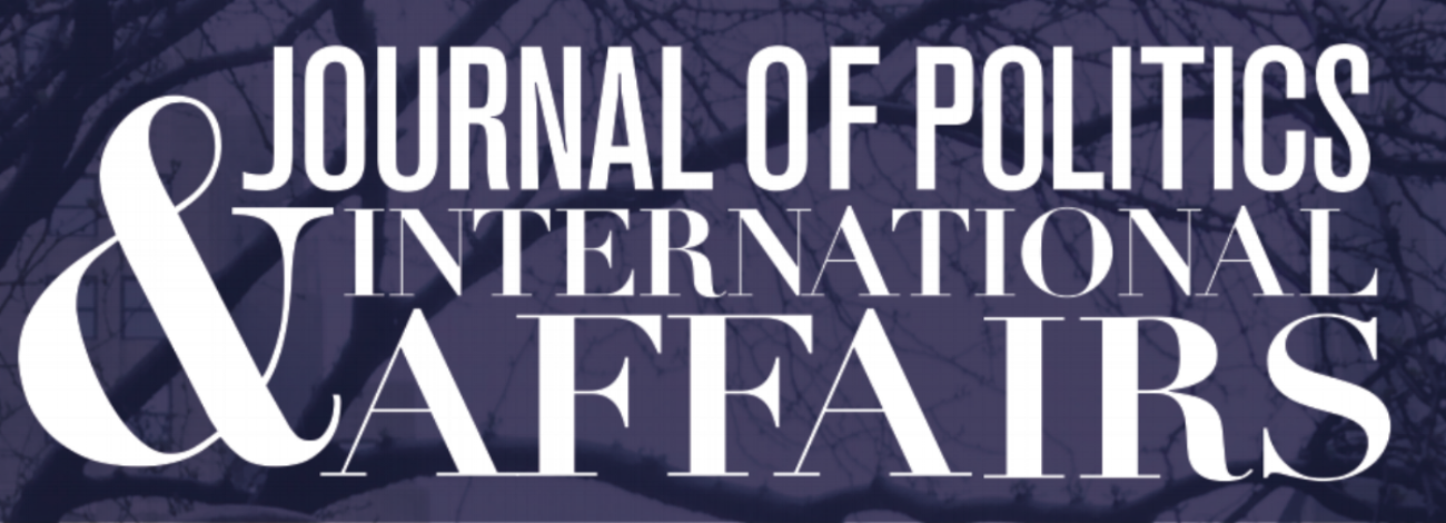 Journal of Politics & International Affairs at NYU