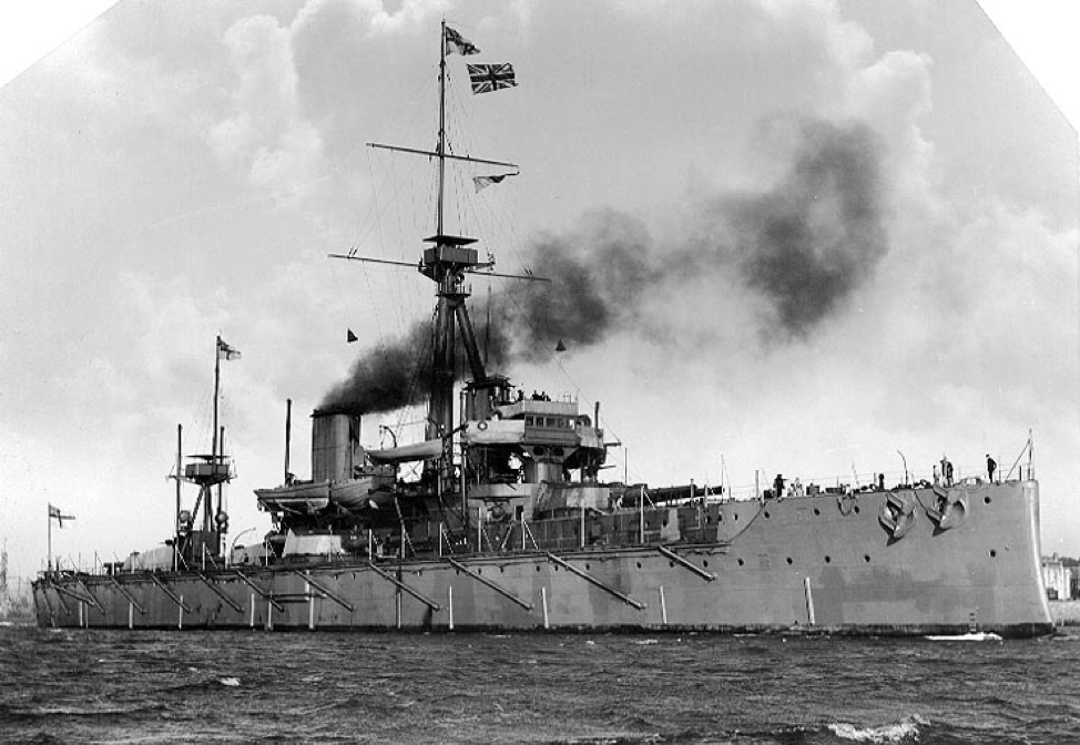 Dreadnought-type battleship, the cause and main focus of the Anglo-German naval arms race