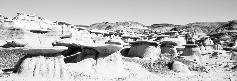 Bisti Badlands Wilderness, New Mexico