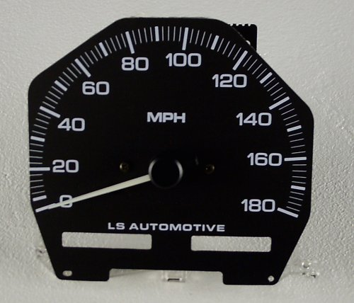 LSAuto 180mph Speedometer for Nissan 240SX (S13)