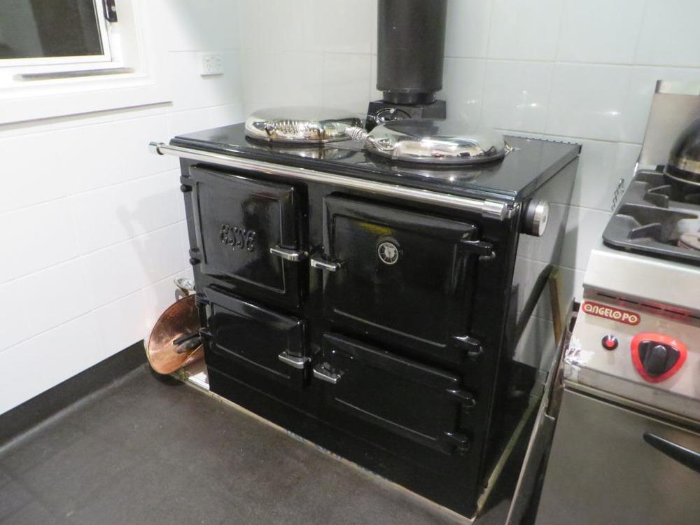 Miss Esse - Our Beautiful Combustion Stove -  polished and ready for Winter.