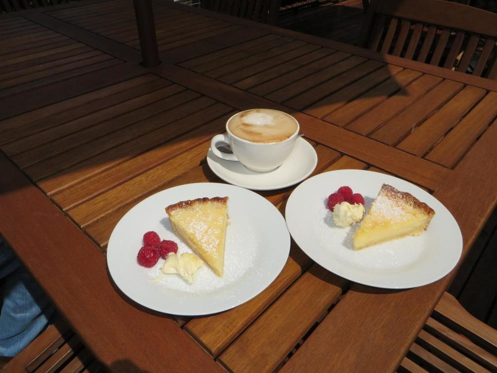 Mother's Day at Flyfaire - Lemon Tart & Cappuccino