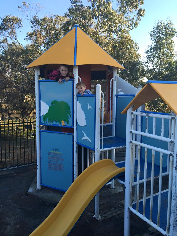 New Children's Playground at Flyfaire Wines