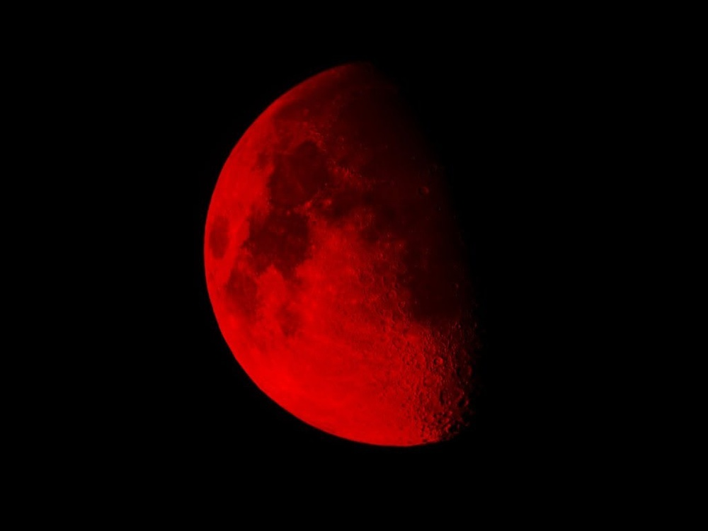 Blood Moon - Sign of the End Times