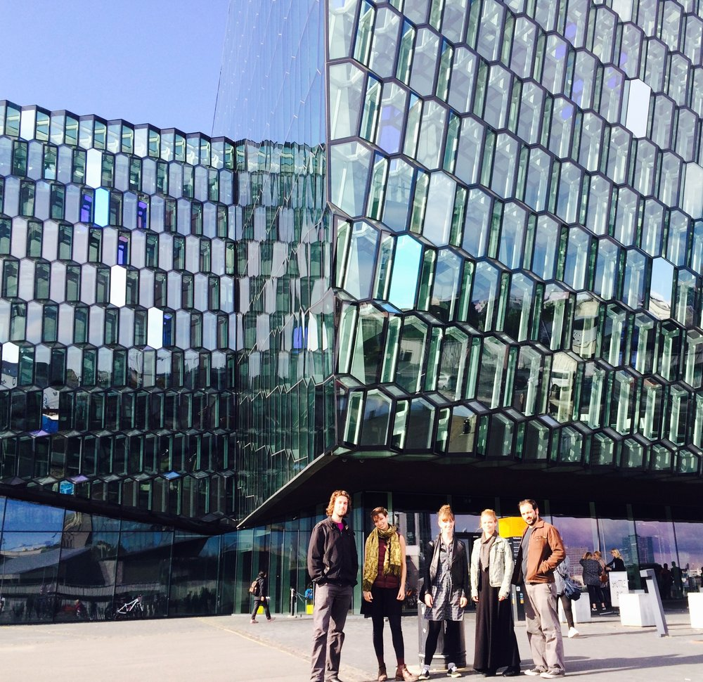 TAK at Harpa Concert hall in Reykjavík, Iceland as part of their Summer 2016 erraTAK tour