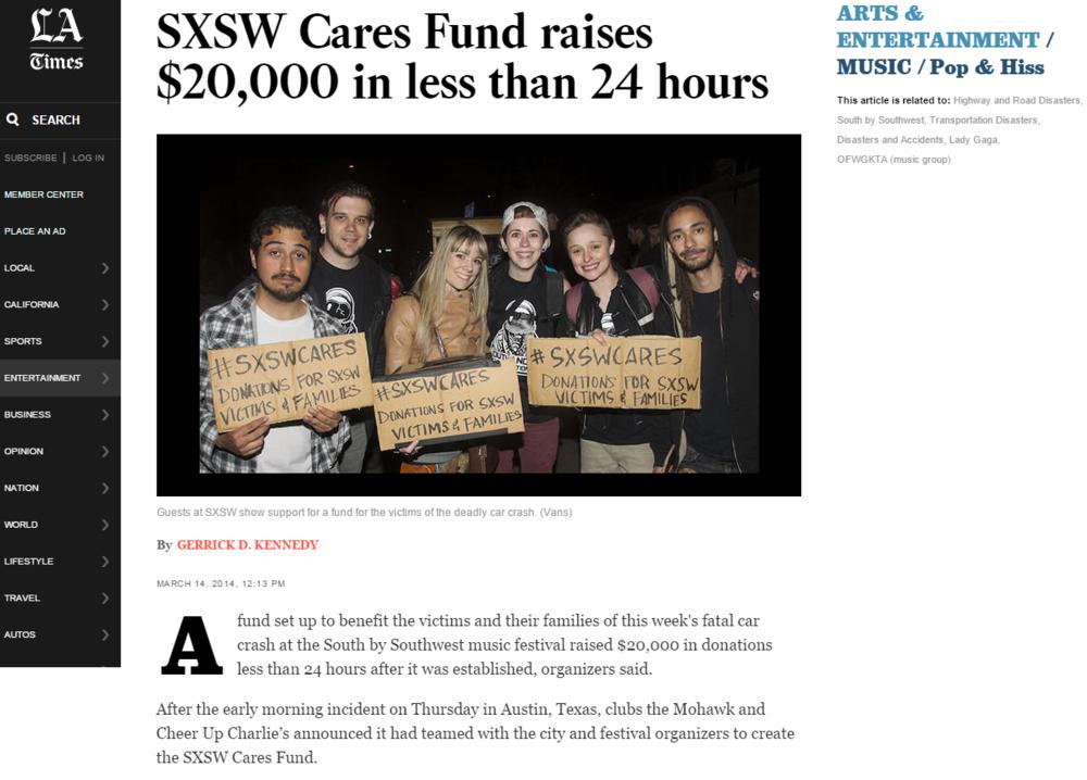 LA Times Cover